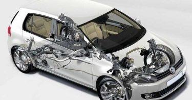 Volkswagen Golf 6, подвеска